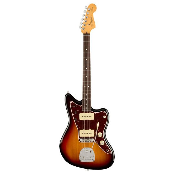 Fender American Professional II Jazzmaster Electric Guitar, 3 Tone Sunburst, RW
