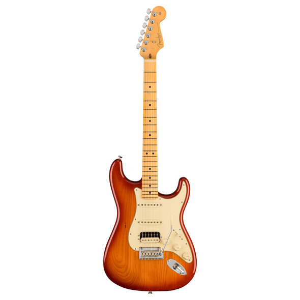 Fender American Professional II Stratocaster HSS, Electric Guitar, Sienna Sunburst, MN