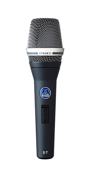 AKG D7s Handheld Dynamic Microphone Supercardioid with Switch