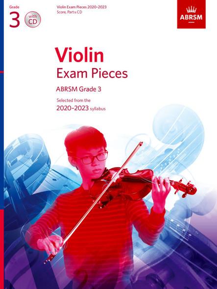 Violin Exam Pieces 2020-2023 Grade 3 Book