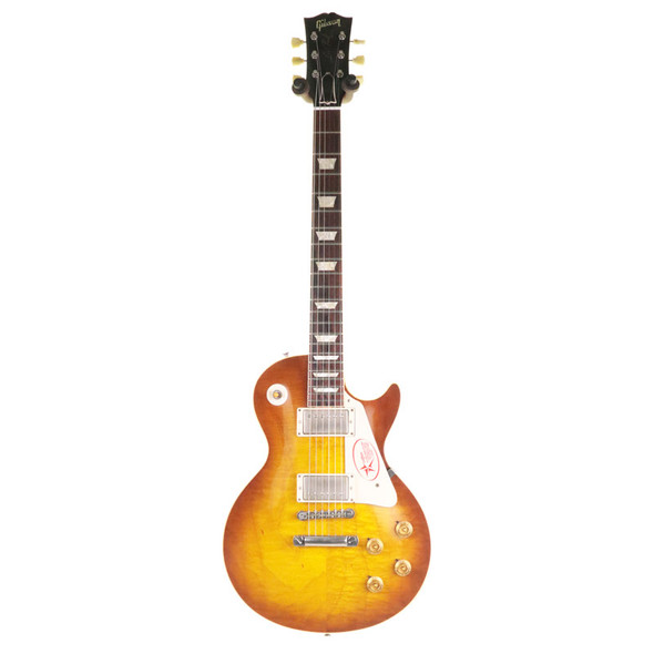 Gibson Custom Shop R9 1959 Reissue Les Paul Electric Guitar, Iced Tea Burst w Lifton Case (pre-owned)