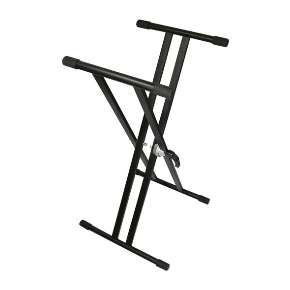 TGI Double Braced Keyboard Stand, Black  (as new)