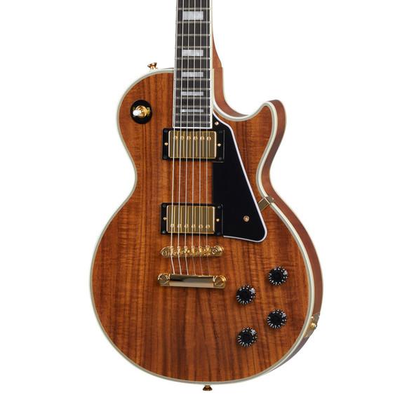 Epiphone Les Paul Custom Electric Guitar, Koa