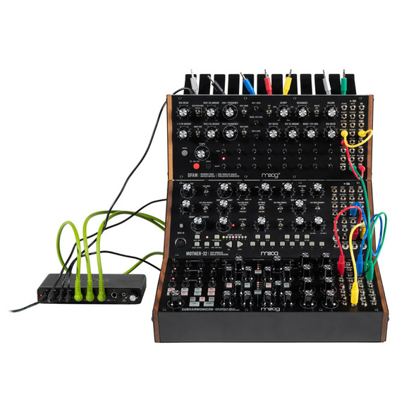 Moog Sound Studio Trio (Mother-32, DFAM, Subharmonicon)
