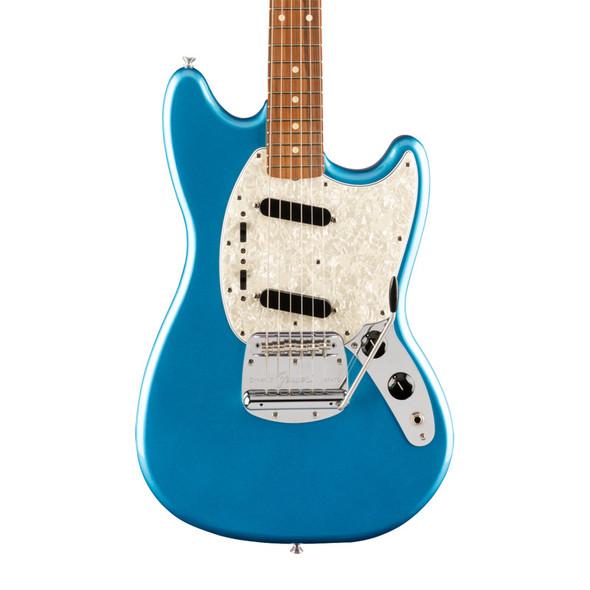 Fender Vintera 60s Mustang Electric Guitar, Lake Placid Blue, Pau Ferro
