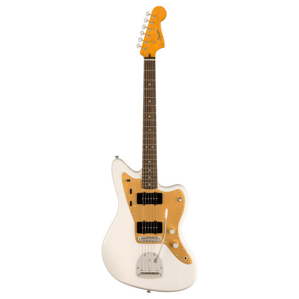 Fender Squier Classic Vibe FSR 50s Jazzmaster Electric Guitar, White Blonde, Laurel