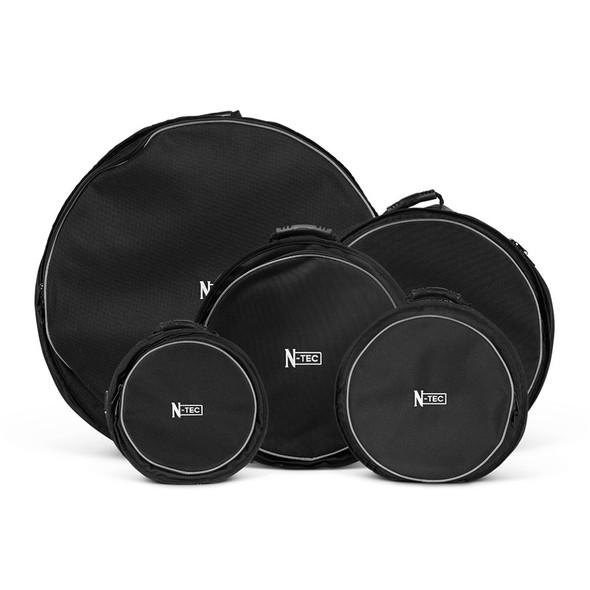 Natal KITS-00181 N-TEC Drum Case Set, 22x18, 14x6.5, 10x9, 12x10, 16x16