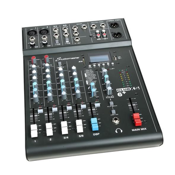 Studiomaster Club XS 6+ Compact Mixing Desk