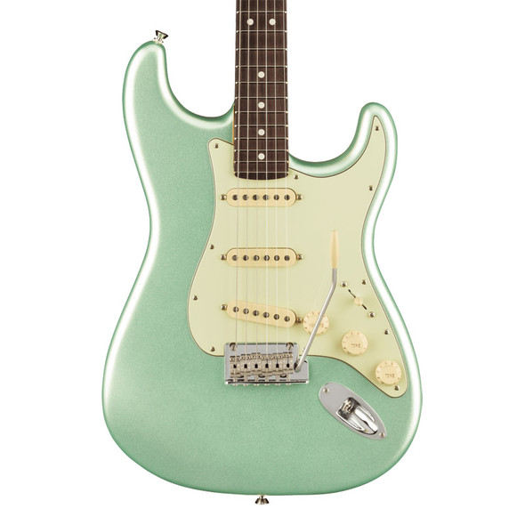 Fender American Professional II Stratocaster Electric Guitar, Mystic Surf Green, RW