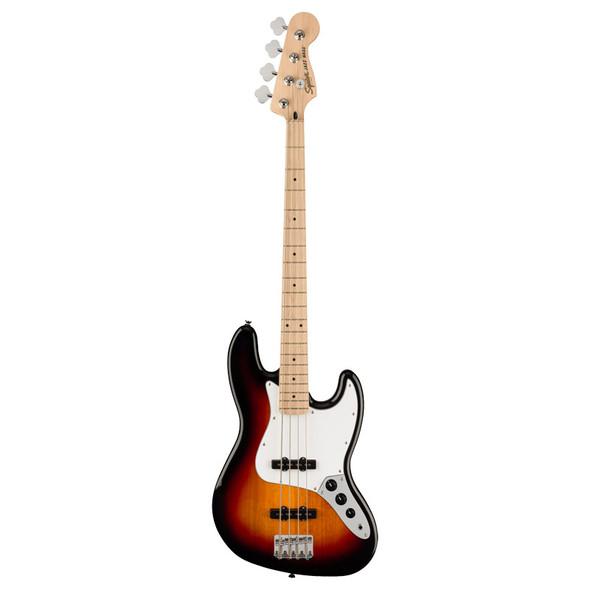 Fender Squier Affinity Series Jazz Bass, 3-Color Sunburst, Maple
