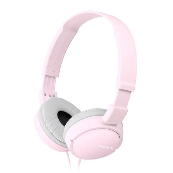 Sony MDR-ZX110 Overhead Headphones, Pink