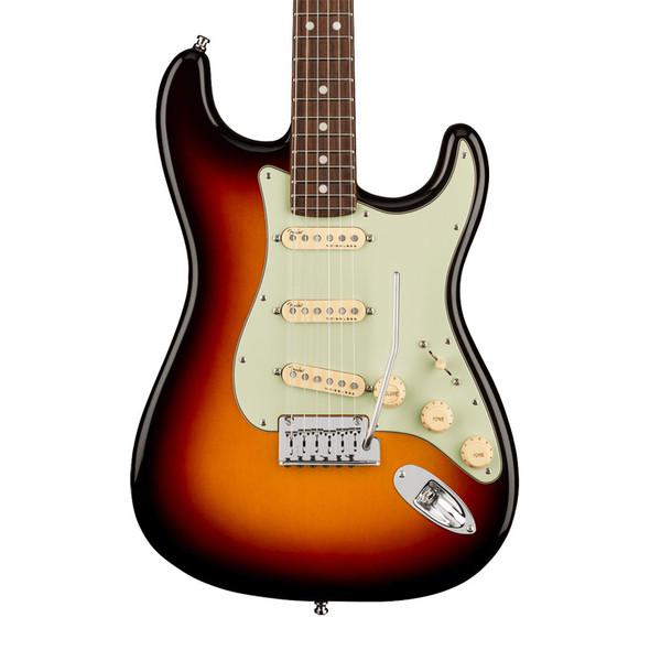 Fender American Ultra Stratocaster Electric Guitar, Ultraburst, Rosewood  (ex-display)