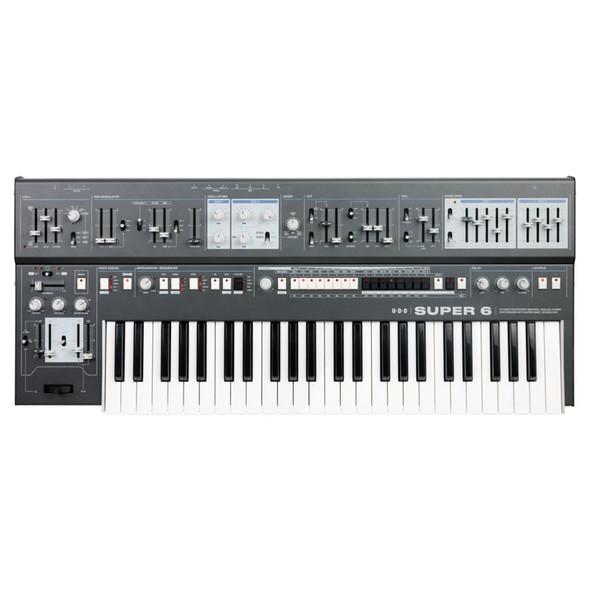 UDO Super 6 Binaural Polyphonic Synthesizer, Black