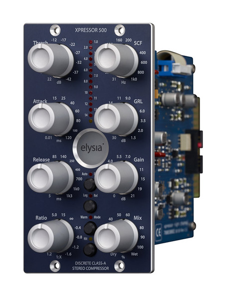 Elysia Xpressor-500 Stereo Compressor in 500 Series Format