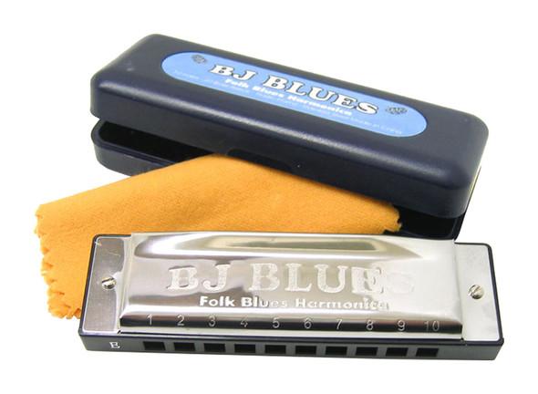 BJ Blues Harmonica In The Key Of C