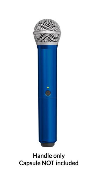 Shure BLX PG58 Handle Components, Blue