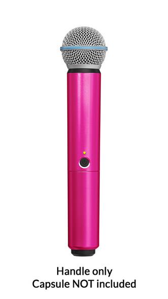 Shure BLX SM58/BETA58A Handle Components, Pink