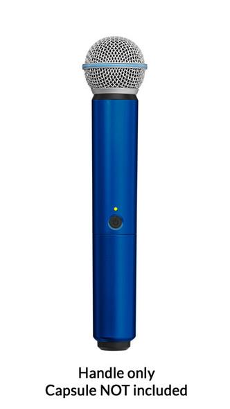 Shure BLX SM58/BETA58A Handle Components, Blue