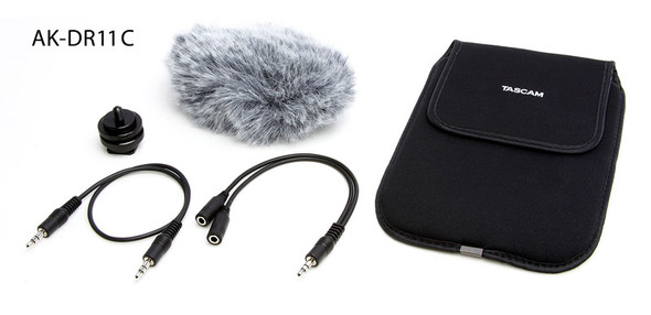 Tascam AK-DR11-C Accessory Kit for DR Series Recorders: Film Makers