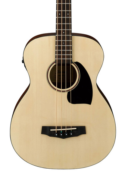 Ibanez PCBE12 Electro-Acoustic Bass Guitar, Open Pore Natural Finish