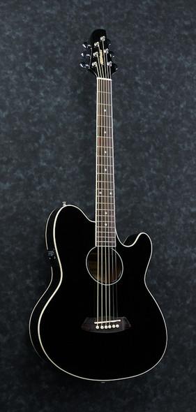 Ibanez TCY10E-BK Talman Electro Acoustic Guitar, Black
