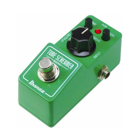 Ibanez TS MINI Tube Screamer Mini Overdrive Effects Pedal