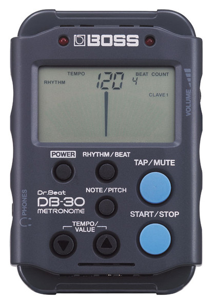 Boss DB30 Metronome with Rhythm patterns