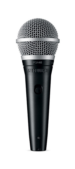 Shure PGA48-XLR Handheld Dynamic Microphone with XLR to XLR Cable