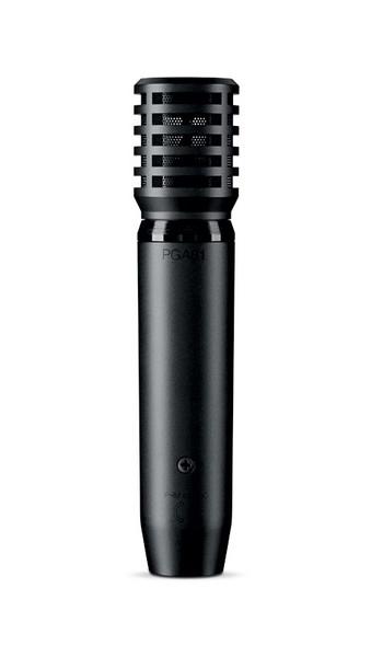 Shure PGA81-XLR Condenser Instrument Microphone with XLR-XLR Cable