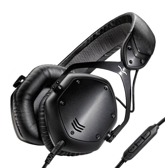 V-Moda Crossfade LP2 Headphones, Matte Black Metal
