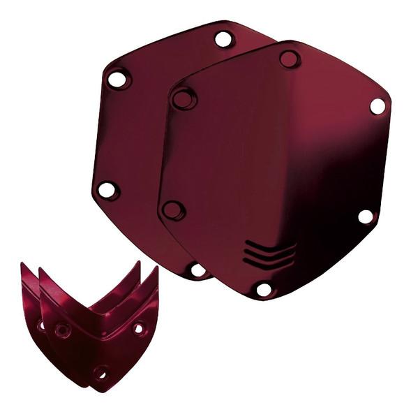 V-Moda Over-Ear Metal Shield Kit (Crimson Red)