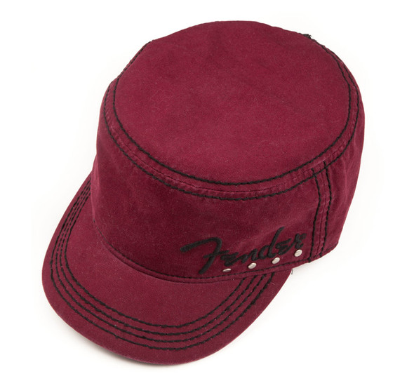 Fender Studded Legion Cap, Wine, Small/Medium
