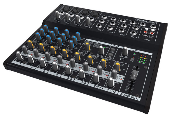 Mackie Mix12FX 12 Channel Compact Mixer with FX