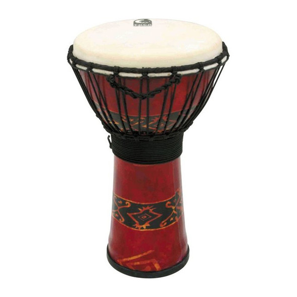 Toca SFDJ-7RP Freestyle 7 inch Djembe, Bali Red