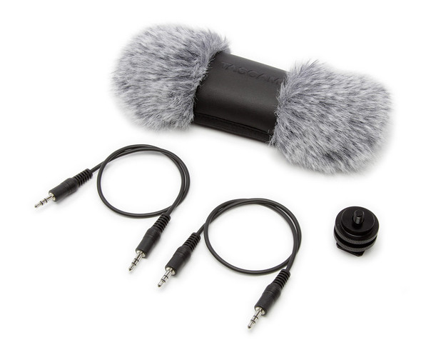 Tascam DR-70D 4-Channel Audio Recorder and Accessories Bundle