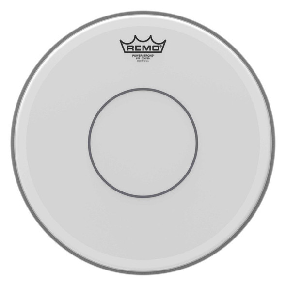 Remo P7-0114-C2 Powerstroke 77 Coated Clear Dot 14 inch Drum Head