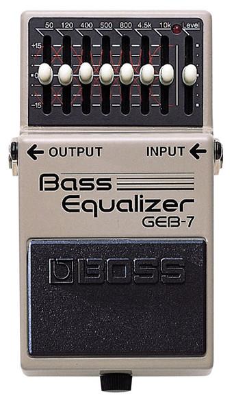 Boss GEB-7 7 band EQ bass pedal