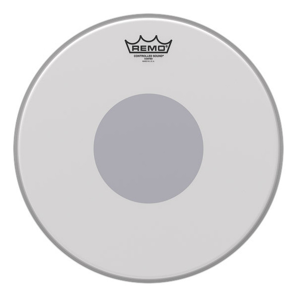 Remo CS-0113-10 13 Controlled Sound Coated Black Dot Drum Head