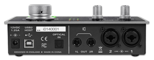 Audient iD14 USB Audio Interface and Monitor Controller