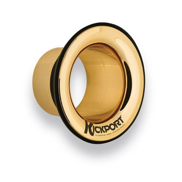 KickPort 2 Bass Drum Soundport, Gold