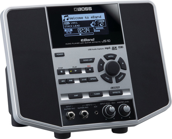 Boss JS-10 eBand Audio Player with Effects