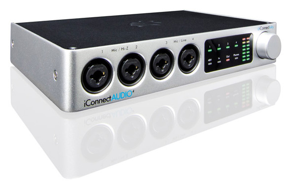 iConnect AUDIO 4+ USB Audio and MIDI Interface for Mac, Windows and iOS