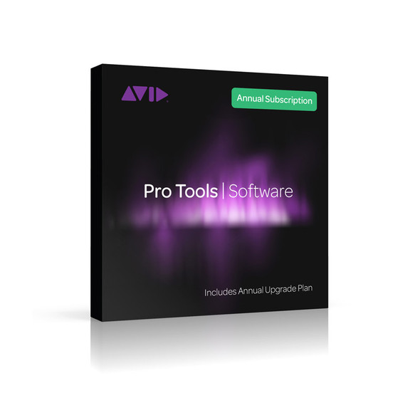 AVID Pro Tools Annual Subscription - Institutional