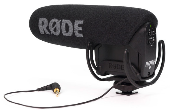 Rode Videomic Pro Compact Shotgun Microphone with Rycote Shockmount