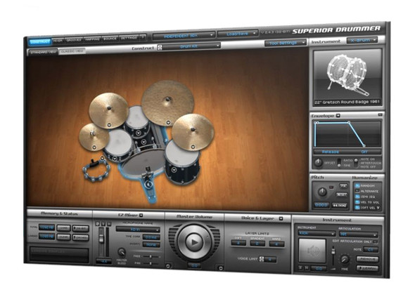 Toontrack SDX: Indiependent Expansion for Superior Drummer (Serial Download)