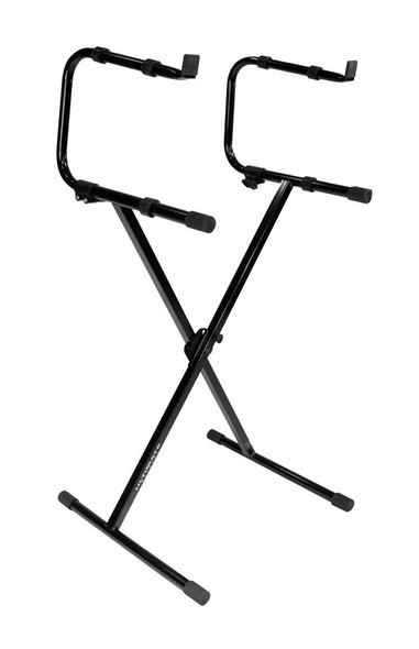 Ultimate Support IQ-1000 Single Braced X Keyboard Stand Plus 2nd Tier
