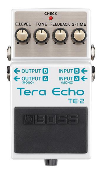 Boss TE-2 Tera Echo Delay Effect Pedal