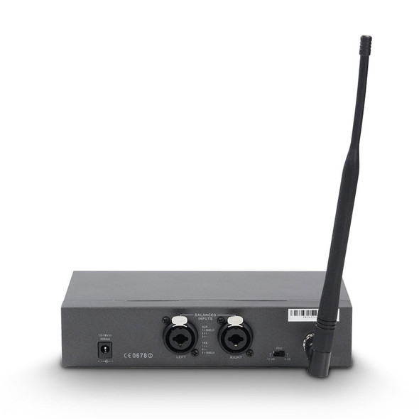 LD Systems MEI 1000 G2 BUNDLE - In-Ear Monitor System with 2 x Belt Pack, CH70