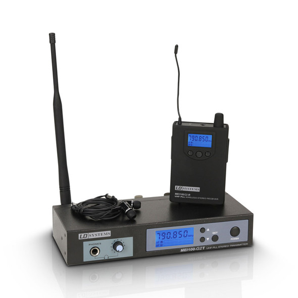 LD Systems MEI 100 G2 Wireless In-Ear Monitoring System, CH70