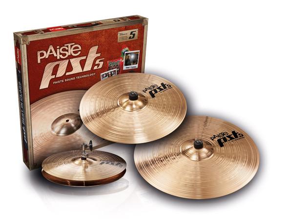 Paiste PST 5 Universal Cymbal Set (14/16/20)